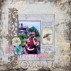 Love U - C'est Magnifique Feb Kit - Riddersholm Designs