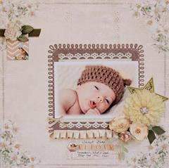 Sweet Baby Keegan - C'est Magnifique Dec Kit