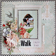Walk This Way - C'est Magnifique July Kit