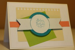 Layered Birthday Card