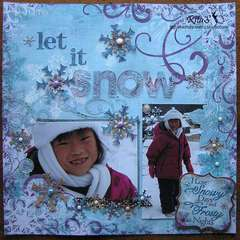 Let It Snow *embossing ch*