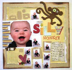 Fancy Pants Designs - Silly Monkey