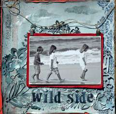 The Wild Side -Published in Scrapbooking and  Beyond Summer 2010