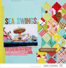 Sea Swings *American Crafts DT