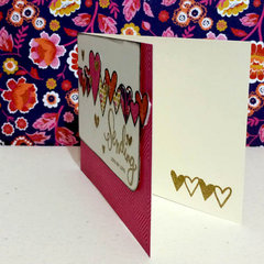 Die-Cut Border Card Inside