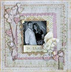 New Prima: Be Mine Layout using Jack and Jill