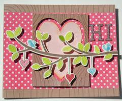 Hi Card {My Little Shoebox}