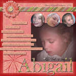 All that is my Abigail