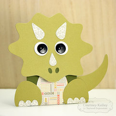 Dinosaur Gift Card Holder