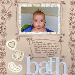 bath time ~ left side