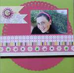 We R Memory Keepers/ Xyron layout