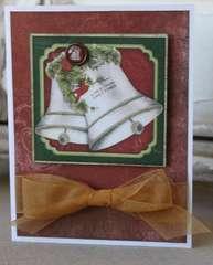 Bo Bunny/Xyron Christmas card