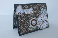 Ruby Rock it/Xyron sweet memories card