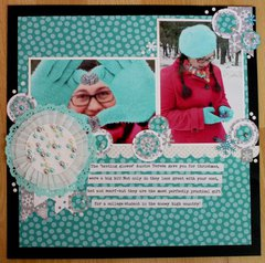 Doodlebug/American Crafts project