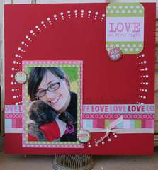 We R Memory Keepers Lucky 8 layout