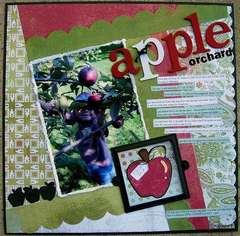 apple orchard - L Side