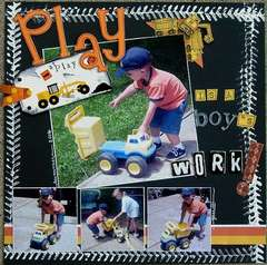 Play is a boy's work!