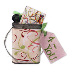 Decorated Gift Certificate tin