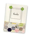 Thanks card using Lily Bee stamp