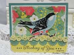 Thinking of You (bird) Card