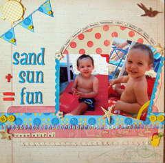 Sand + Sun = Fun