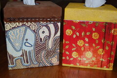 Decorated Kleenex Boxes