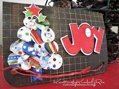 ::Joy Card by KimberlyRae::Bo Bunny