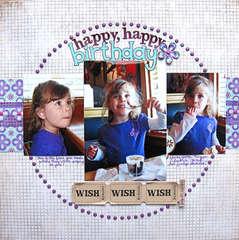 Happy, Happy Birthday (from Applebee's to you...)