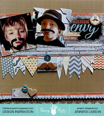 Mustache Envy *Fancy Pants Designs*