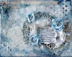 Serenity Mixed media canvas