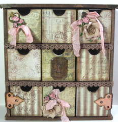 Swirlydoos technique kit. Kaisercraft drawers