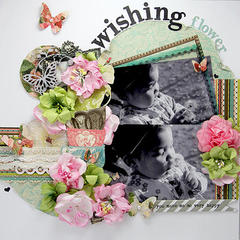 Wishing Layout. *Manor House Creations*