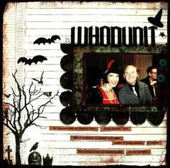 A WHODUNIT Halloween