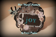 Joy -6x6 Mini Chipboard Album - Cover