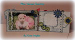 Memories - chipboard mini album 5x7 1/2 - Pages 3 & 4