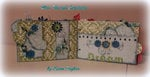 Memories - chipboard mini album 5x7 1/2 -Pages 5 & 6