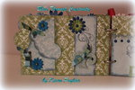 Memories - chipboard mini album 5x7 1/2 -Page 5