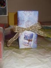 Upcycled Christmas Wrap 2