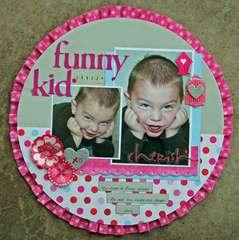 Funny Kid (Feb Serendipity Scrapbooks kit)