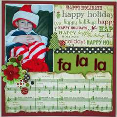 Fa La La *Serendipity Scrapbooks kit*