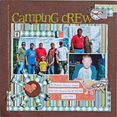 Camping Crew (Serendipity Scrapbooks Sept. kit)