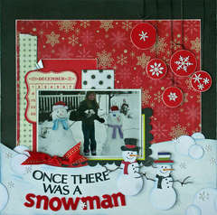 Once There Was A Snowman **Cheery Lynn Designs**