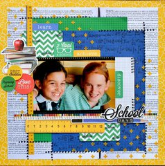 School Days - Kaisercraft DT - 2 Cool 4 School Collection