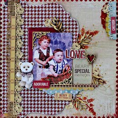 Beary Special Memories - Kaisercraft DT