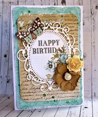 Happy Birthday - Manor House Creations
