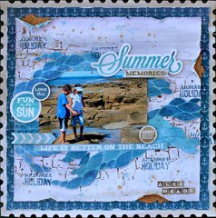 Kaisercraft DT - Summer Memories - Sandy Toes Collection
