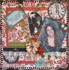Loves Cats - Scraps of Darkness Simple Pleasures kit