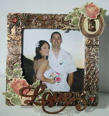 Beautiful Wedding Frame