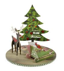 Rotating Christmas Scene