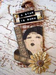A Star is Born - Clear Scraps tag